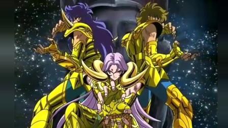 圣斗士星矢:雅典娜对雅典娜,简直就是王者之间的战斗!