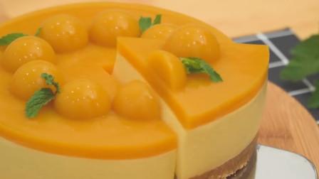 喜欢吃蛋糕不用出去买,教你做芒果慕斯蛋糕,不用烤箱也能做哦
