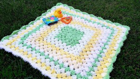「母婴针织」柔软舒适的儿童毯