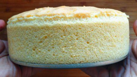 原来做蛋糕这么简单呀,自己做的健康又好吃,细腻松软,永远吃不够