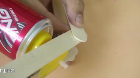 用这么一堆材料DIY一个小发明,成品让人刮目相看,真有意思!