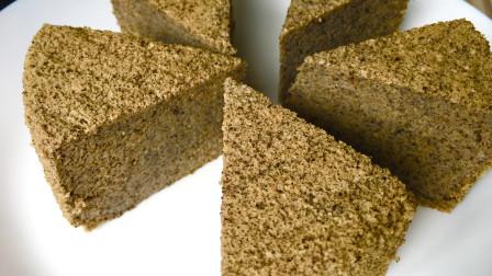 黑芝麻山药蒸糕的做法,材料简单做法简单,却超级养生