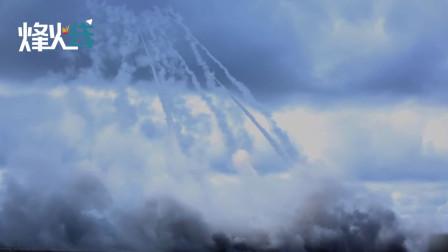 """震撼现场!美日澳军演期间美军""""海马斯""""火箭炮实弹射击"""