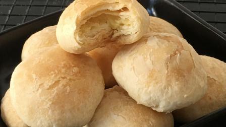 香酥绿豆饼最新做法,配方和步骤详细讲解,皮薄馅大,一碰就掉渣