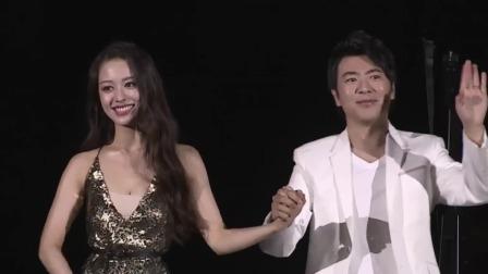 郎朗夫妻配合默契,四手联弹诠释唯美爱情 《狮子王》电影发布会 20190710