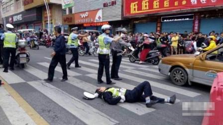 不能放纵!无证女疯狂驾车肇事,在场交警都不能幸免,网友:太狠了吧!