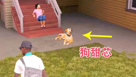 看门狗:炮芯想甜芯了,看到别人家的黄狗,花钱把它买下来!嘻嘻