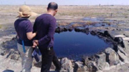 """新疆发现一条""""黑水河"""",河水不断在沸腾,专家赶来后,立即申请武警保护"""