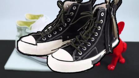 小A与阿Jay:男生的高帮帆布鞋怎么搭,这样穿让女生尖叫!