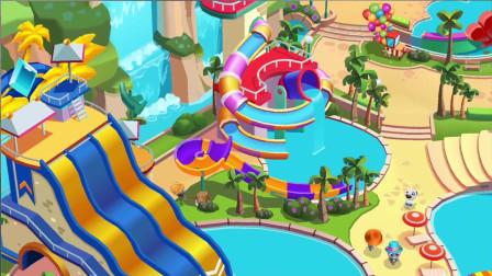 会说话的汤姆猫家族游戏 汤姆猫水上乐园:基础教学片