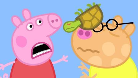 超惊讶!小猪佩奇怎么遇到这么多小动物?它们排队做什么?儿童亲子游戏玩具故事