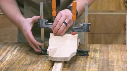 男子打造一个超大号的木刨,这波操作太秀了,佩服佩服