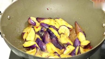 大厨教你,红烧茄子做法简单易学,无需油炸,好吃下饭。