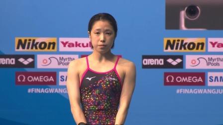女子10米跳台决赛-日本选手荒井茉莉 2019 FINA游泳世锦赛 39