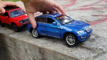 玩具车儿童玩具的幻灯片播放视频