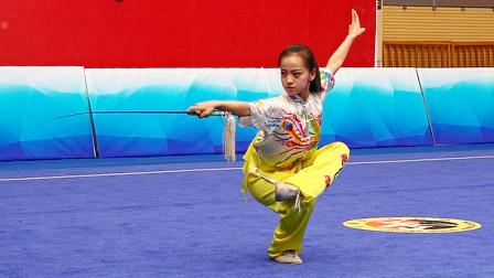 2018年全国青少年武术套路锦标赛 B组 女子剑术 018 任锦珂(河北)