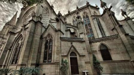 广东规模最大的教堂,造价、材质与巴黎圣母院比肩,这点是国内唯一的