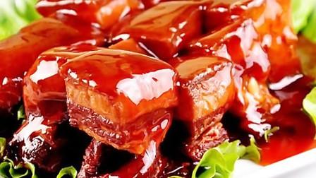 厨师长教你红烧肉的家常做法,软糯香甜,肥而不腻,简单易学