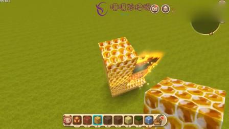 迷你世界:教你制作蜂蜜传送门,可以传送到蜂蜜世界吗?