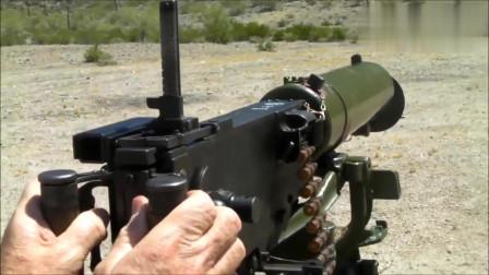实弹试射中国24型马克沁重机枪,射击的声音太像裁缝机了