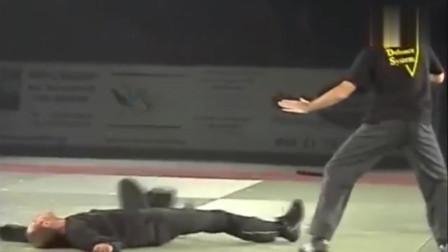 传统武术表演赛,咏春拳快如闪电?
