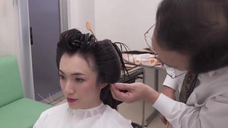 """""""白无垢""""加高高的发髻!新娘传统和服装扮,繁琐的发型喜欢吗?"""