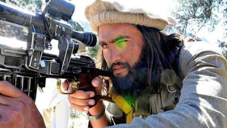 塔利班神槍手上演經典戰例,一槍狙殺美軍指揮官