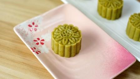 苏式绿豆糕的改进做法,把猪油换成黄油味道更香