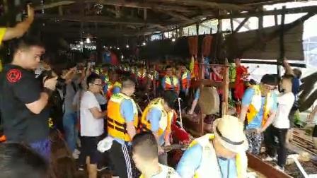 2019 瀝滘新白尾雕龍船駿水 - 新龍船駿水記錄