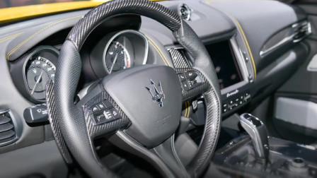 抢先体验 玛莎拉蒂LEVANTE莱万特加装RacingEdge碳纤维换挡拨片