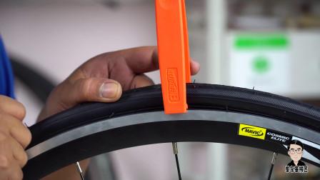 """公路自行车轮胎""""千斤顶"""",专治各种顽固不化的轮胎组合"""