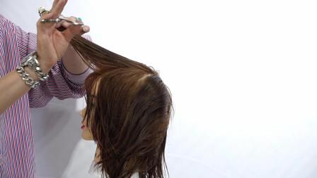 现在非常流行的网红发型剪发教程,一定要学一下