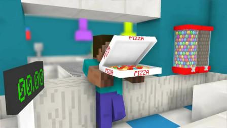 我的世界动画-怪物学院-软糖店打工-Kefe Animations