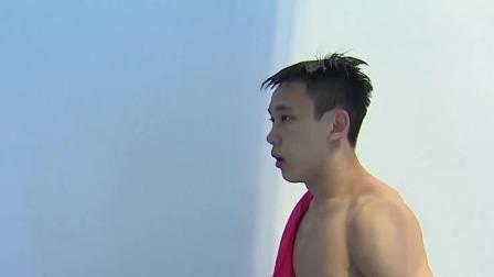 难度系数3.2手到擒来!杨昊首跳整套动作完成度超高 游泳世锦赛  预赛-男子10米跳台 48