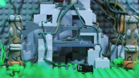 乐高Lego:英雄寻宝记 差点被野人煮了