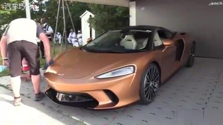 海外新车实拍,全新 迈凯伦 GT 超级跑车
