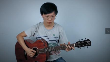 周杰伦《简单爱》原版吉他弹唱演示视频,含吉他谱