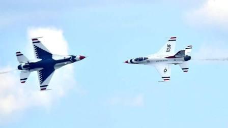 美国雷鸟飞行表演队F16坠毁事故原因查明飞行员坠机前晕厥