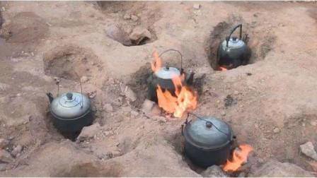 """重庆的""""地狱之门"""",火苗燃烧60年不曾熄灭,村民天天来烧水做饭"""