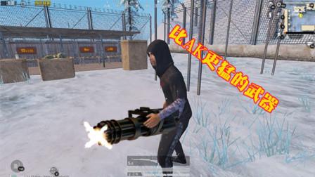 和平精英:这把枪比AK威力大,属性很好,却因这点很少有人用!