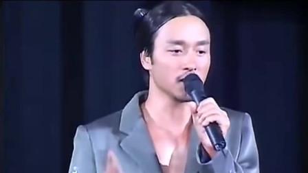张国荣最后一场演唱会 在他流泪决绝地转身那一瞬 心都跟着碎了