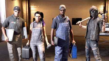 KO酷《看门狗2》02期 崭新黎明 全剧情攻略流程解说 PS4游戏