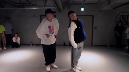 街舞:Justjerk舞室成员J-Ho和Thiscase默契合作Urban编舞I Had A Vision