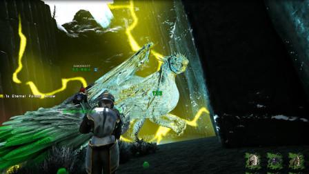 方舟生存进化:瓦尔盖罗毛哥开始羡慕我,去飞龙谷抓了只幽灵喷火龙这是什么运气