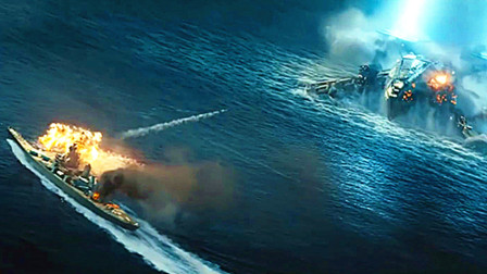 《超级战舰》4K画质,精彩战斗剪辑!