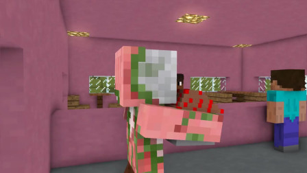 我的世界动画-怪物学院-松糕店打工-Maltshake Animations
