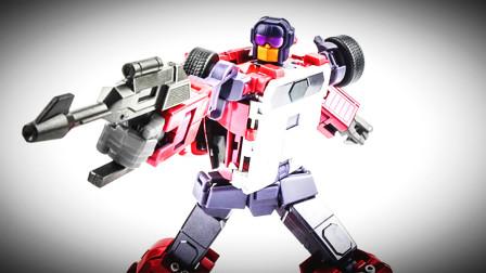 小津的变形金刚玩具视频—第三方X-TRANSBOTS MX-XV 飞天虎组合成员:封锁