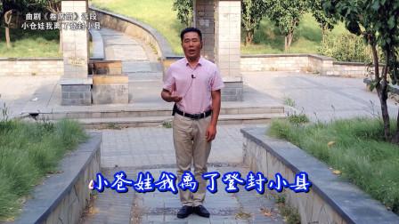 曲剧《卷席筒》选段:小仓娃我离了登封小县,曲剧名家海连池代表作品,这小哥唱得真不错!