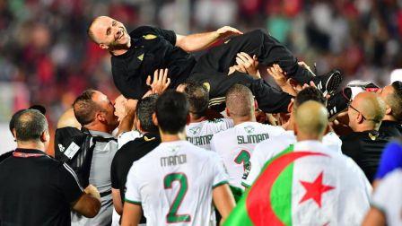 阿尔及利亚主帅:这不是我们最好的比赛 但我们配得上夺冠