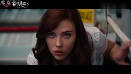 钢铁侠:托尼首次见到寡姐就对她着迷,颜值巅峰的寡姐谁顶得住